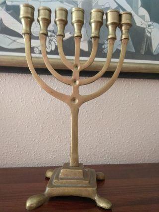 candelabro judio ,7 brazos