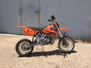 Vendo KTM 65cc de motocross (PRECIO NEGOCIABLE)