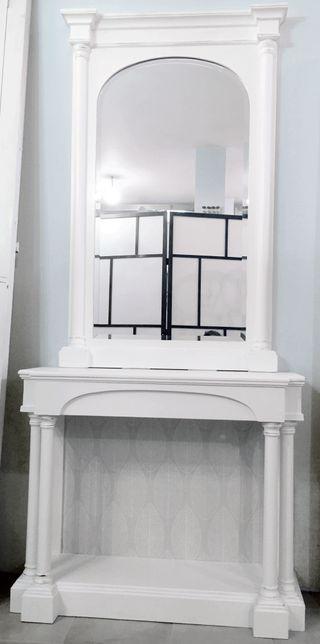 Mueble con espejo. A estrenar