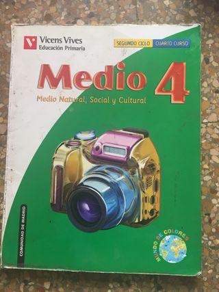 Libros de primaria cuarto de segunda mano en Valencia en WALLAPOP