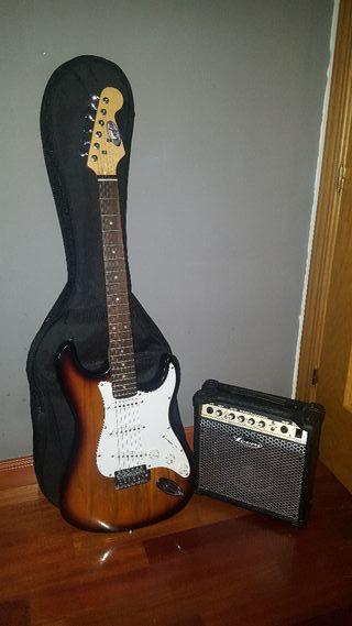 Guitarra eléctrica (NEGOCIABLE)