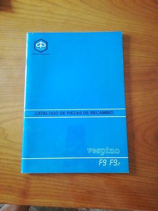 Catálogo de piezas Vespino F9