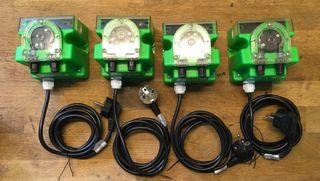 4 bombas dosificadoras acuario marino. Nuevas!