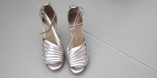 Zapatos mujer baile latino