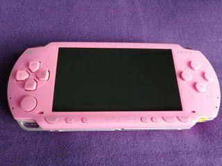 PSP Rosa Pink + 2 juegos + regalos