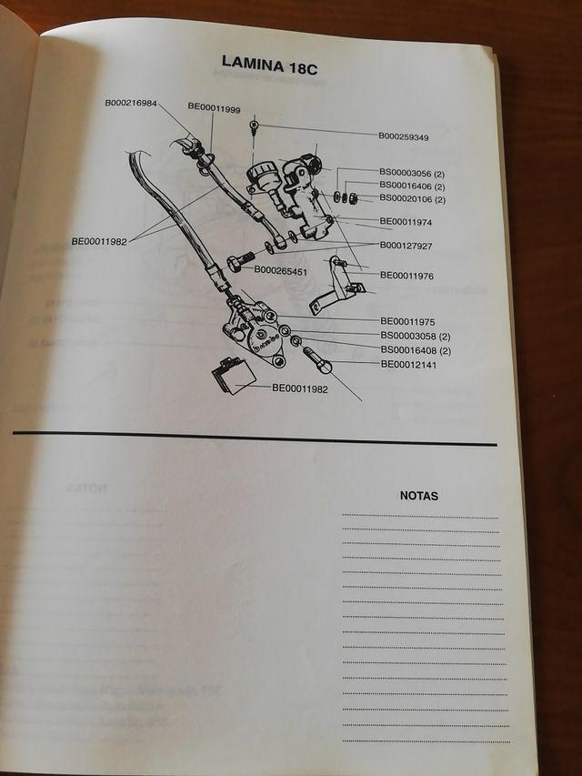 Catálogo de piezas Vespino F9 Fast Rider