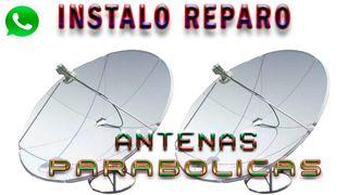 Instalo y reparo antenas parabolicas.