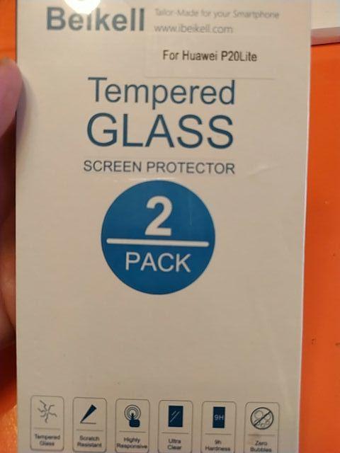 2 cristales templados sin estrenar
