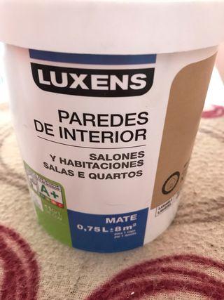 Pintura Nueva Luxens Marrón chocolate mate