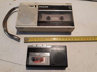 grabadora cassette.