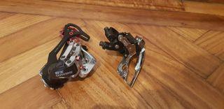 Desviadores 3x9 MTB