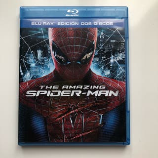 The amazing spider man blu-ray