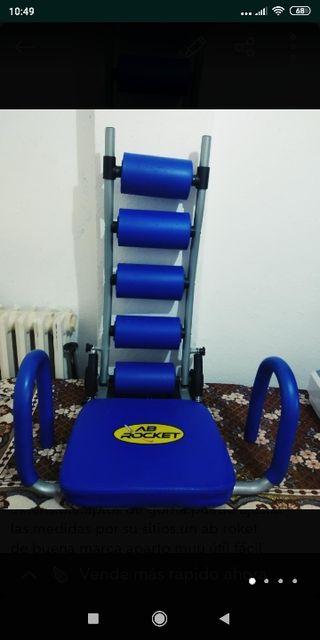 aparato ejercicio abdominales fitness