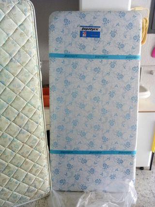 colchón flex de 90 +tapiflex con patas