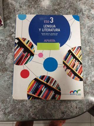 Libros Lengua y Literatura. 3°ESO.