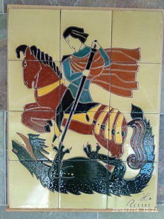 Rayola cerámica Sant Jordi