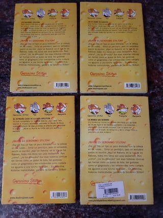 4 Libros Gerónimo Stilton
