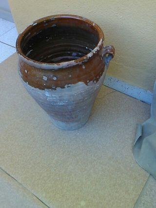 Orcilla de barro antigua decoracion