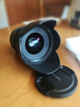 OBJETIVO SAMYANG 24MM T1. 5 VDSLR MKII Canon