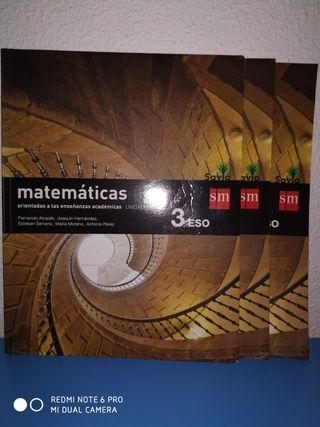 Libros 3 Eso Matematicas academicas