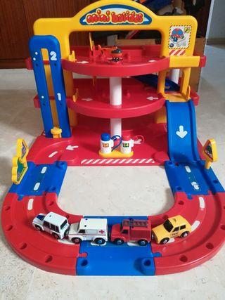 parking de juguete 3 plantas