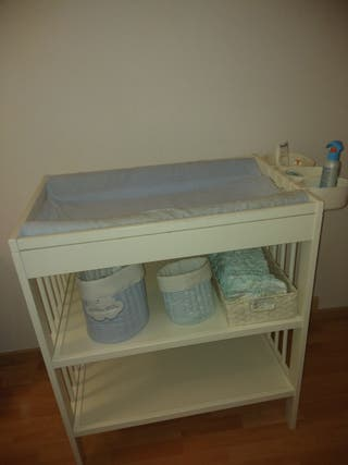 mueble cambiador bebe