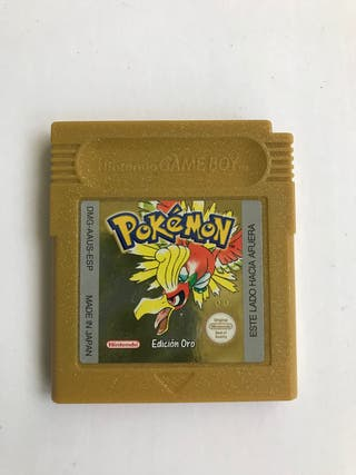 Game boy pokemon oro