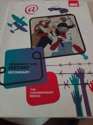 libro geografía historia en inglés secundaria