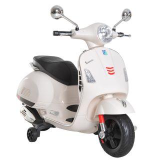 Moto Eléctrica Infantil Coche Triciclo Vespa Scoot