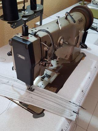 máquina de coser triple arrastre