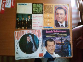 discos antiguos de pizarra