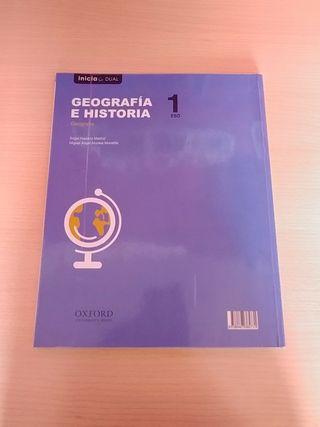Libro de texto Geografía e Historia 1 Eso