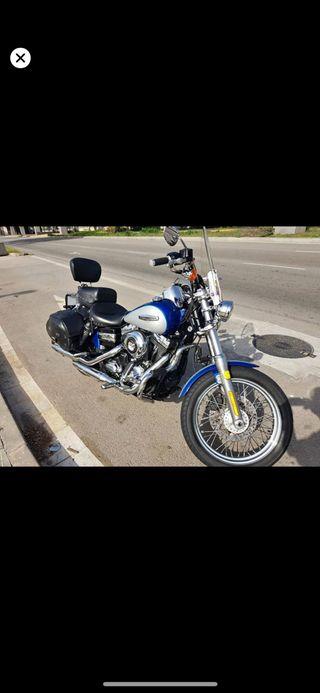 Harley davidson dyna superglide custom