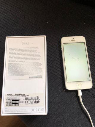7e73f8fd166 Iphone 5 16 Gb de segunda mano en WALLAPOP