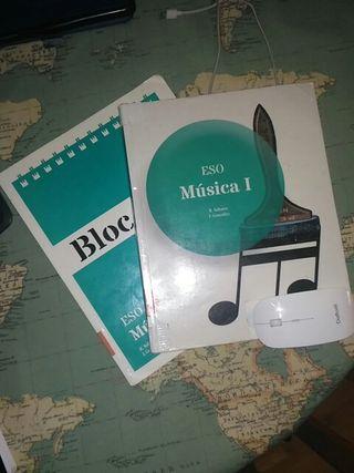 libro 1 ESO música Teide
