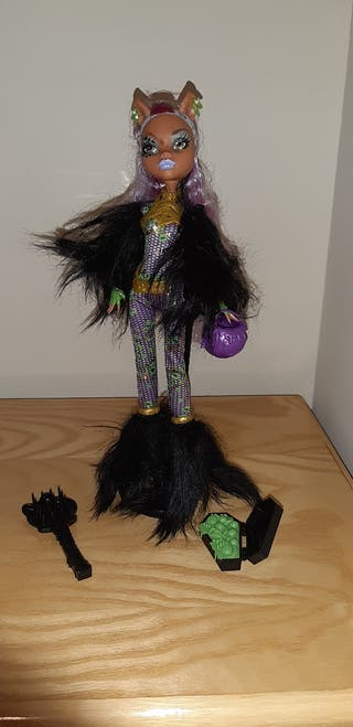 Muñeca Monster High Clawdeen Wolf