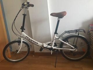 cbca869c53c Bicicleta plegable Moma de segunda mano en Barcelona en WALLAPOP