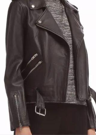 Leather Jacket New Walter Baker Biker