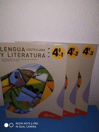 vendo libro lengua y literatura 4 eso