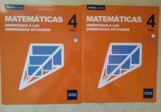 libro de matematicas 4 ESO