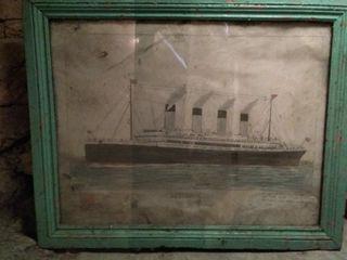 Obra Titanic año 1912