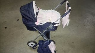 carrito de bebe de juguete