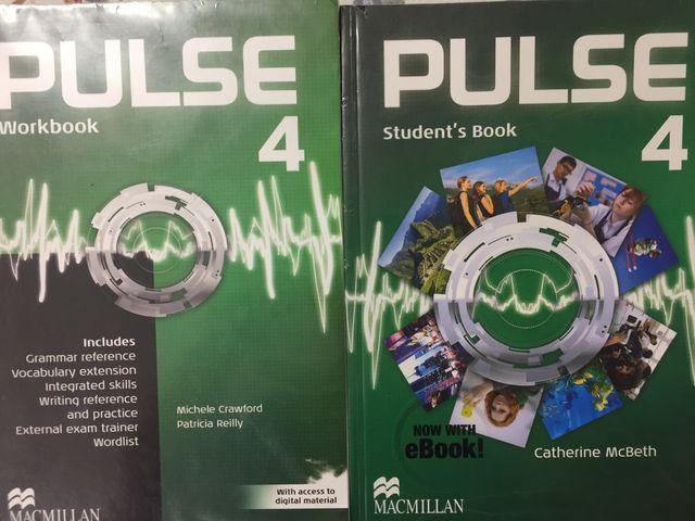 Libro y cuaderno de Ingles 4 ESO
