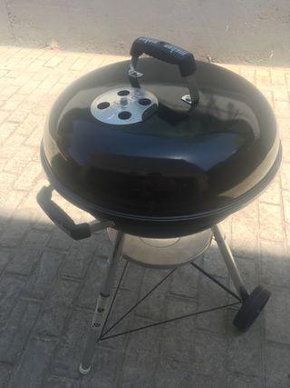 Barbacoa weber compacta carbón