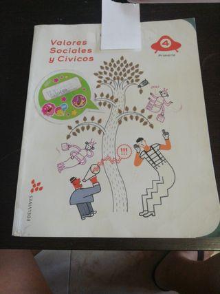 Valores Sociales y Cívicos 4