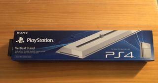 Soporte vertical PS4 blanco