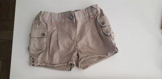 pantalón corto verano niña 6-7 años