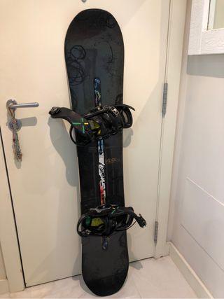Tabla de snow board burton