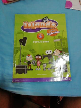 libro inglés 4 primaria islands