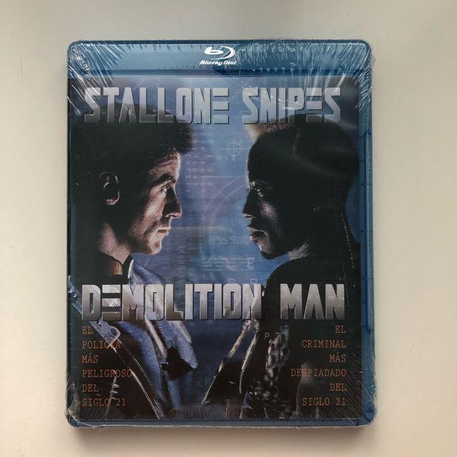 Demolition man blu-ray precintado